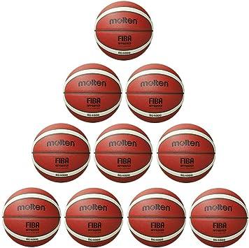 Fan Sport 24 Molten B6G4000 Fiba - Balón de Baloncesto (tamaño 6 ...