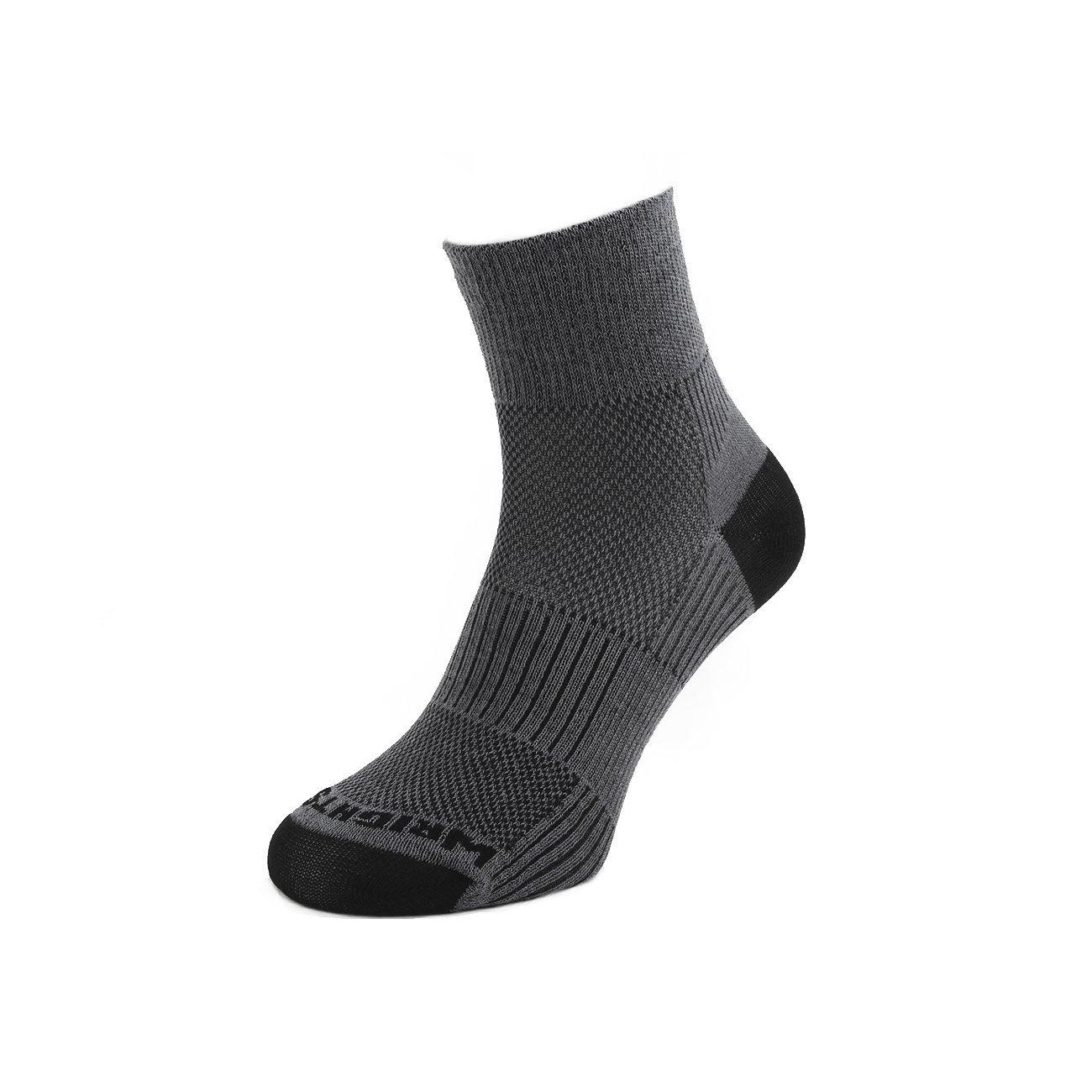 Wrightsock Coolmesh II Quarter Socke Noir