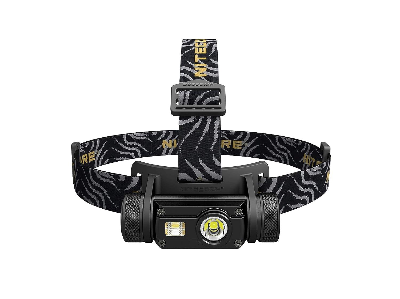 Nitecore HC65 Stirnlampe Leistungsstarke Unisex Erwachsene, schwarz