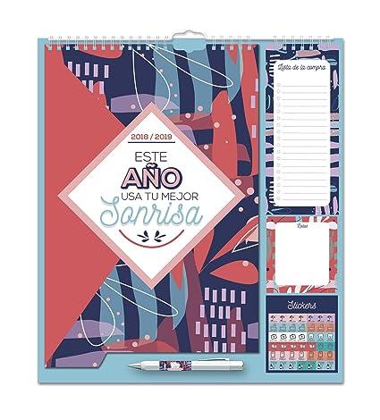 Grupo Erik Editores - Amelie Planificador Mensual Familiar 2018/2019, 21.5 x 32.5 cm