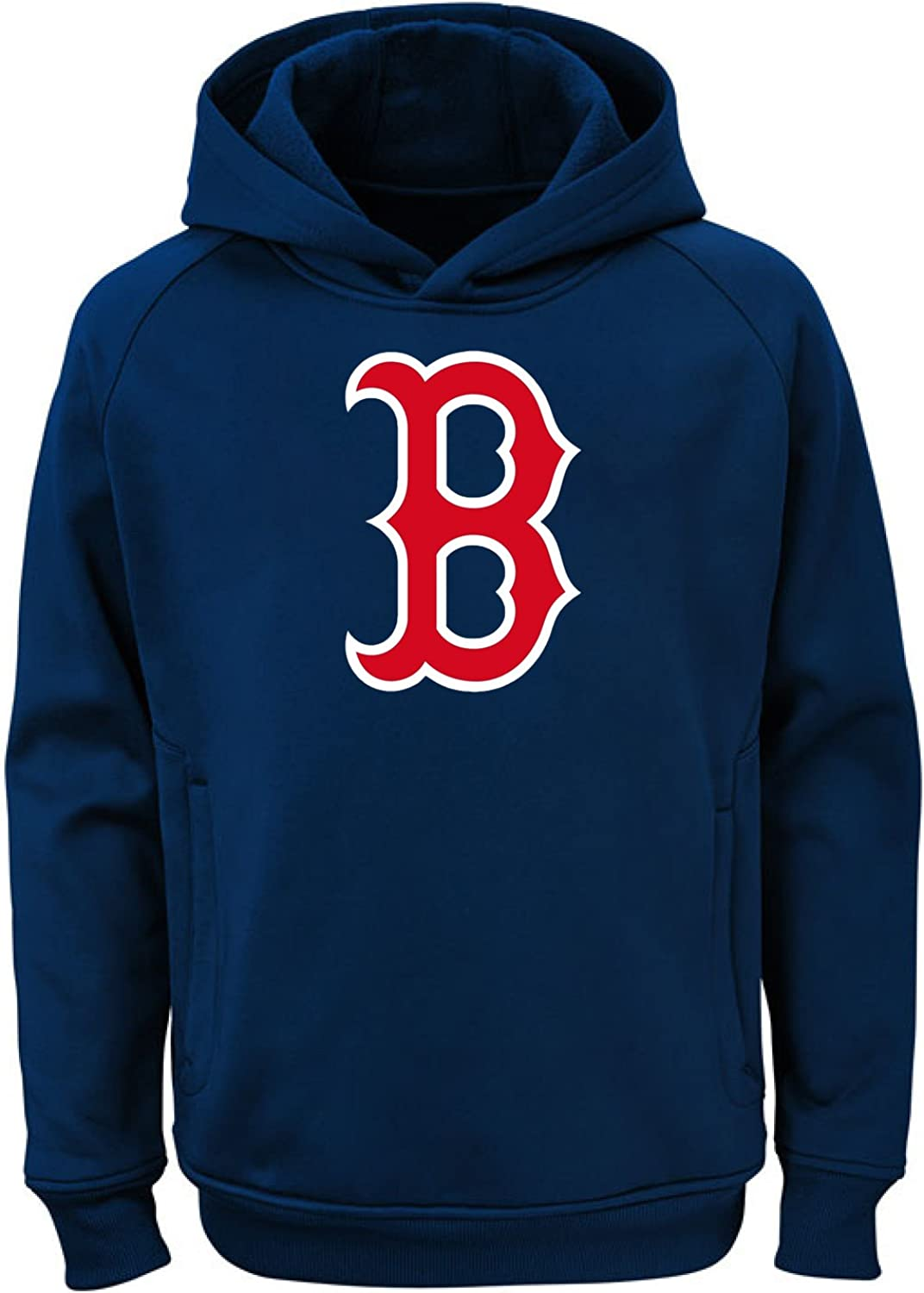 Outerstuff MLB Youth Team Color Performance Primary Logo Pullover Sweatshirt Hoodie