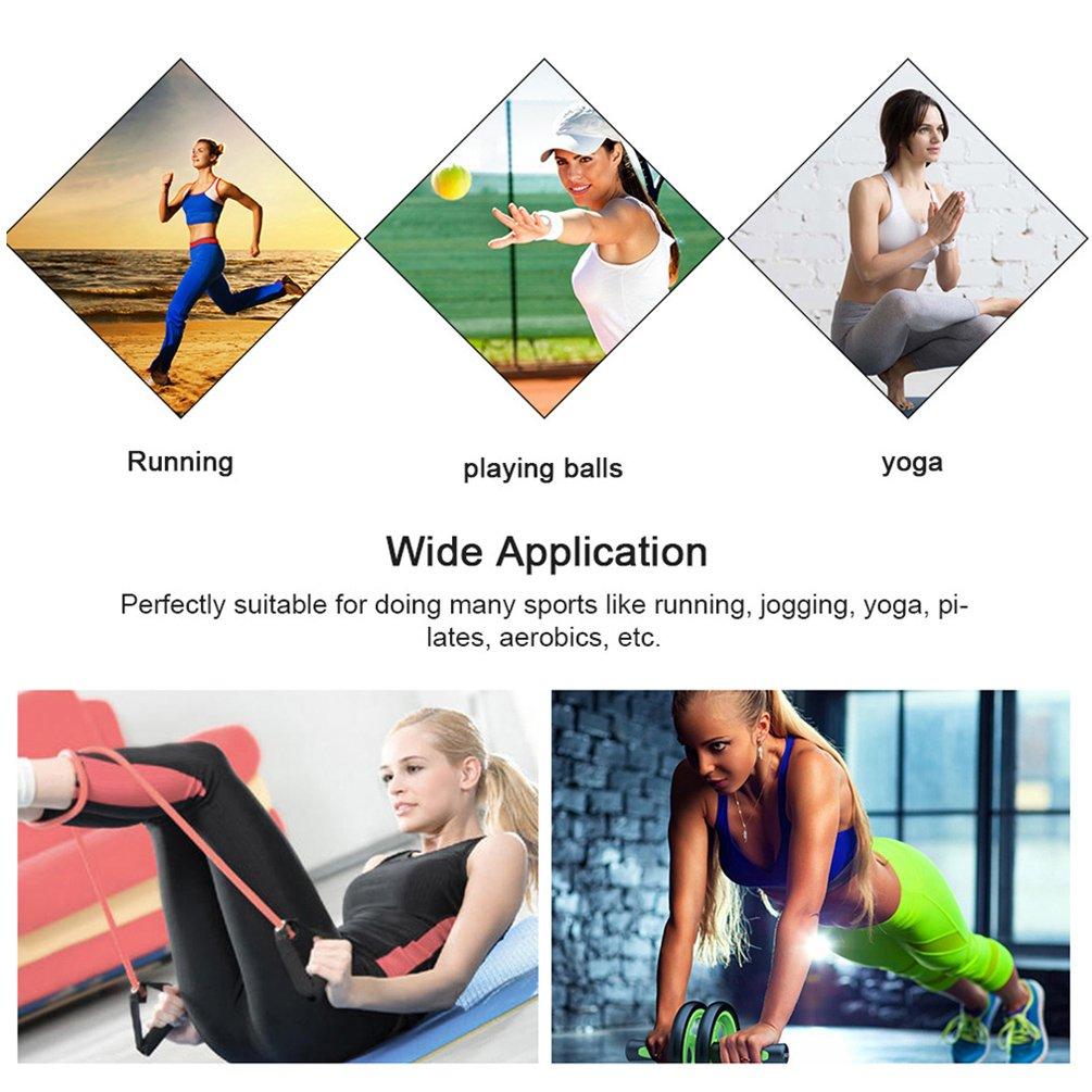 Fitibest Donna Pantaloni Elastici per lo Yoga, Corsa e Danza con Impressioni Colorate