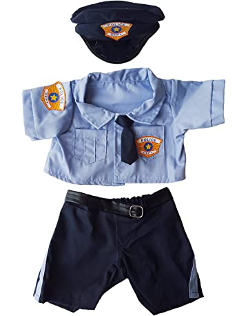 8fc169e0e3 Police Uniform Outfit Teddy Bear Clothes Fits Most 14