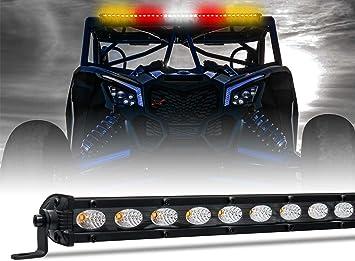 """Xprite 36/"""" Rear Chase Strobe Light Bar Combo Work Lamp for Off-Road UTV Polaris"""