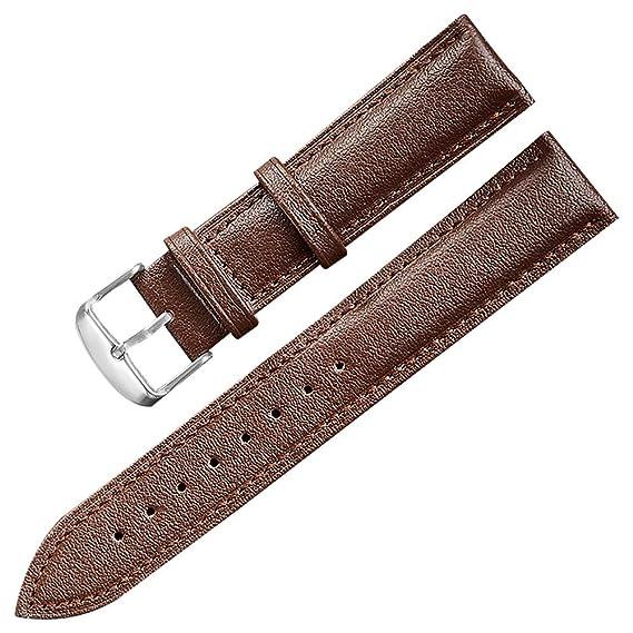 Waren des täglichen Bedarfs riesige Auswahl an professionelle Website 12mm Uhrenarmband Ersatz Leder Uhrenarmbänder für Männer ...