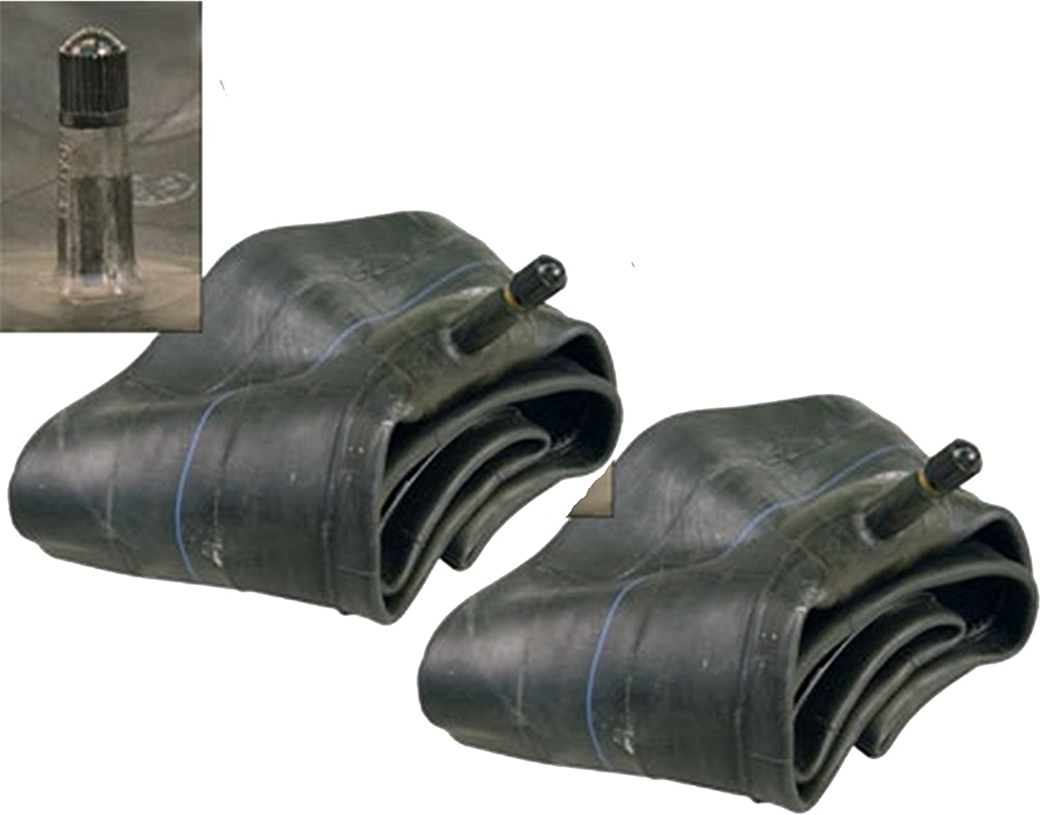 PACK OF 2 (two) Firestone Inner Tube 4.80-8/4.00-8/4.00-9/4.80-9 Inner Tube With TR13 Straight Stem - Fits Great With Lawn Mower, Garden Cart, Wheelbarrow, Hand Truck