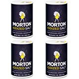 Morton Iodized Salt, 26 oz, Pack of 4