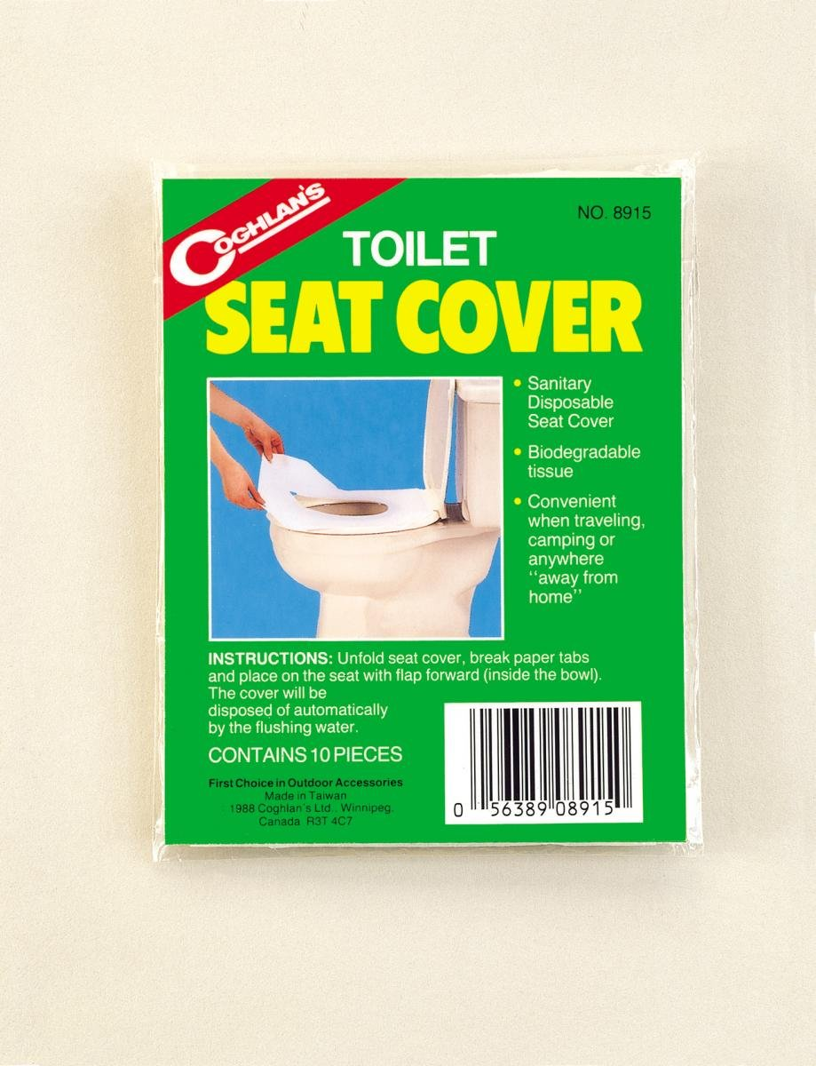 Coghlan's Biodegradable Travel Toilet Seat Covers (10 Pack) Coghlan' s 8915