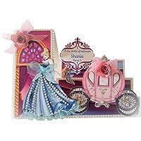Cinderella Pink Side Step Invitations - 25 pack