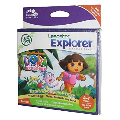 Dora the Explorer Leapfrog Leapster Explorer Learning Game: Video Games