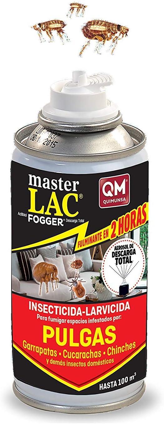 QUIMUNSA Masterlac Fogger (Insecticida-Larvicida) 150ml,