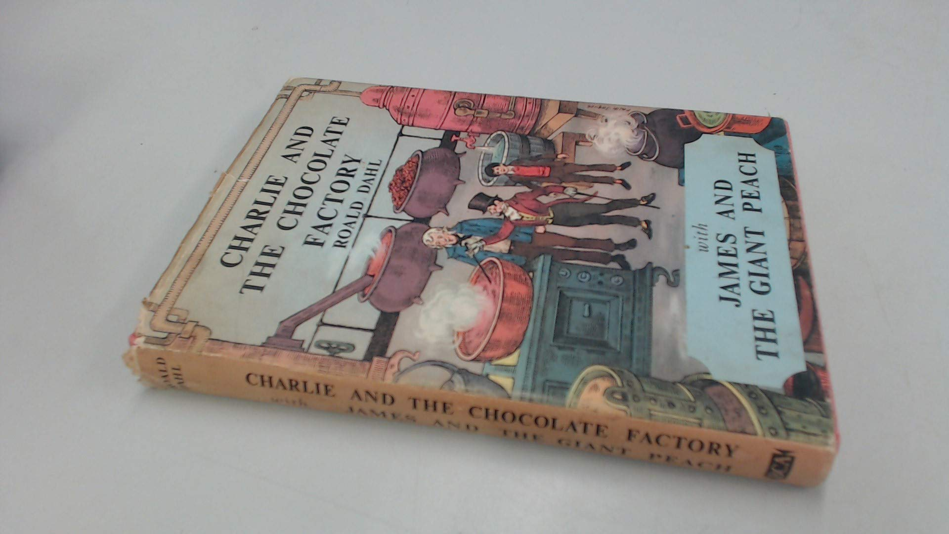 Charlie And The Chocolate Factory And James And The Giant Peach