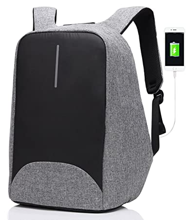 Amazon.com: SAMI TUDIO Anti-theft Backpack with USB Charging Port ...