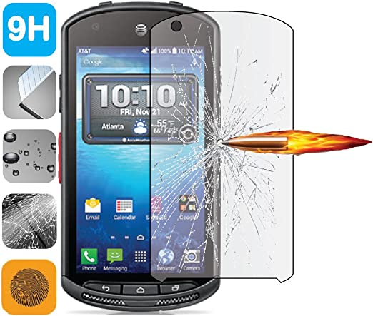 tempered glass 9h lcd screen protector guard kyocera duraforce e6560 e6762 amazoncom tempered glass