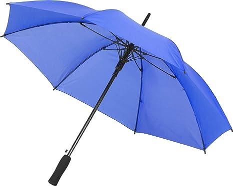 Paraguas para Hombre Mujer Tamaño Grande Abierto automático en Azul