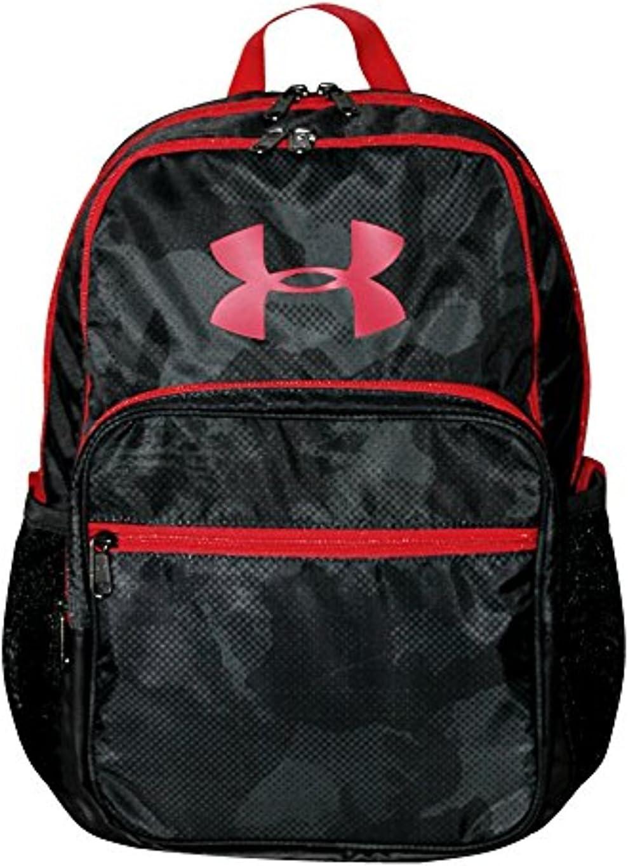 Under Armour HOF Youth Boys Athletic Multi purpose School Backpack Black//red