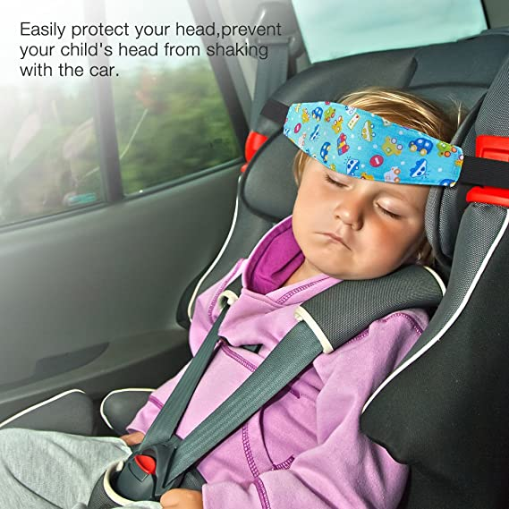 Baby Car Head Support Rovtop 2 Pcs Toddler Seat Strap Nap Aid Holder