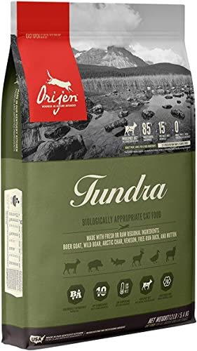 Orijen Biologically Appropriate Cat Food, Tundra, 12 Pounds