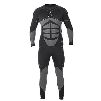 Esquí térmica Ropa interior funcional para hombre Juego Blusa + Pantalón Elbrus Magnum, color Magnum