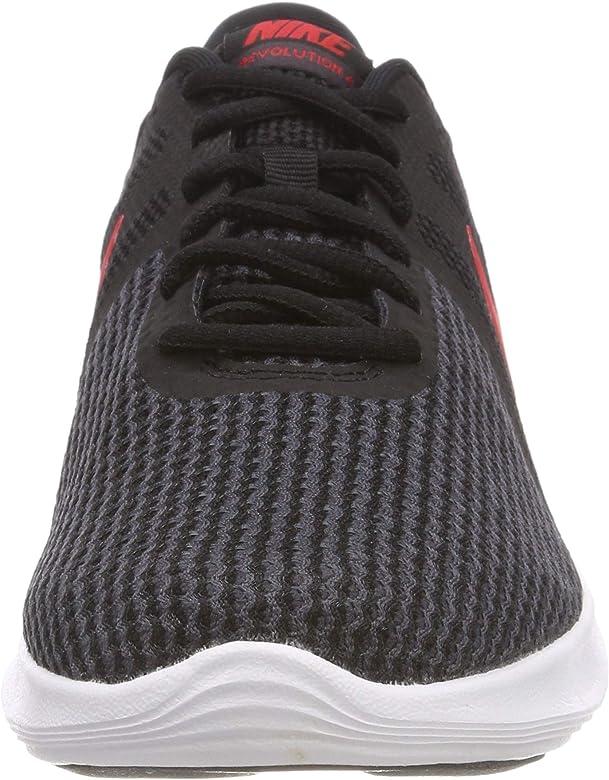 espiral región Generoso  Nike Revolution 4 EU, Zapatillas de Running Hombre, Negro (Black/University  Red-Oil Grey-White 061), 40.5: Amazon.es: Zapatos y complementos