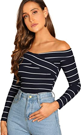 Romwe Womens Casual Rib Knit Cap Sleeve Button Front V Neck Blouse Tee Tops
