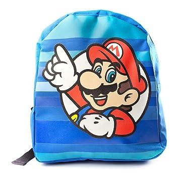 Nintendo Super Mario Bros. Mochila infantil BIO-MP0DZOSMB Azul 5.7 liters: Amazon.es: Equipaje