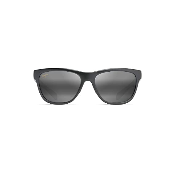 2865a1d36493 Image Unavailable. Image not available for. Colour: Maui Jim Secrets  Sunglasses (767-2M) Black Matte ...