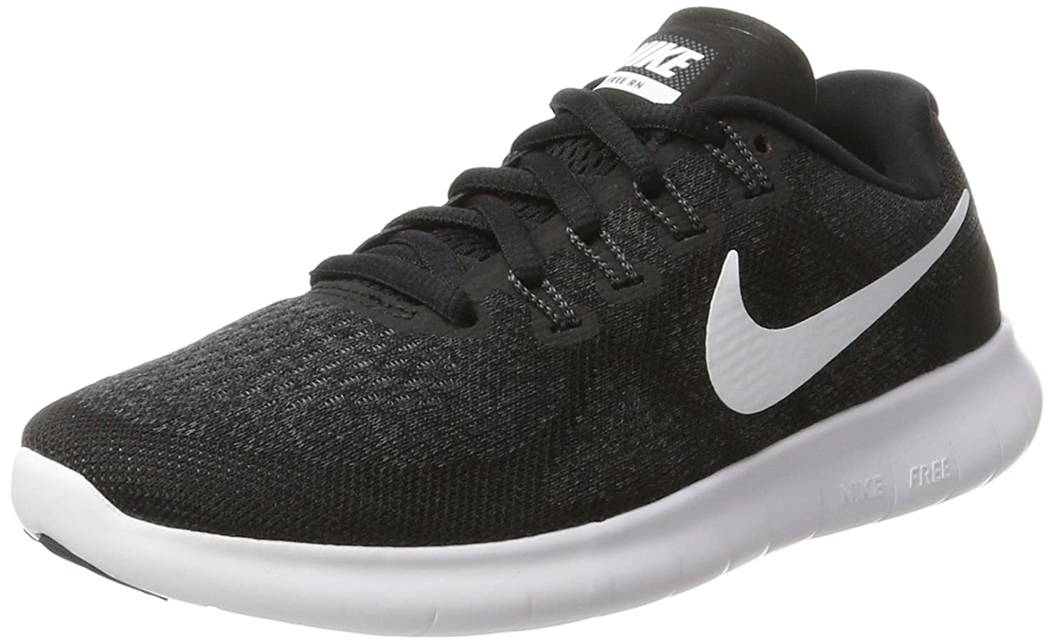 NIKE Women's Free RN 2017 Running Shoe B01K0NQQDG 12 B(M) US|Black/White/Dark Grey/Anthracite