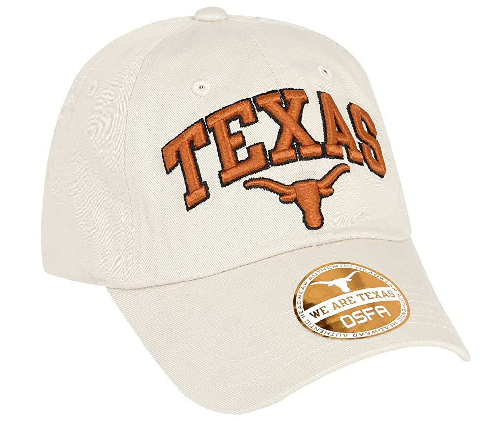 University of Texas Authentic Apparel NCAA Texas Longhorns Mens Secondary Capsecondary One Size Stone