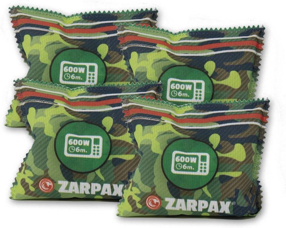 Zarpax Reusable Outdoor Gear and Gun Safe Dehumidifier, 4-Pack