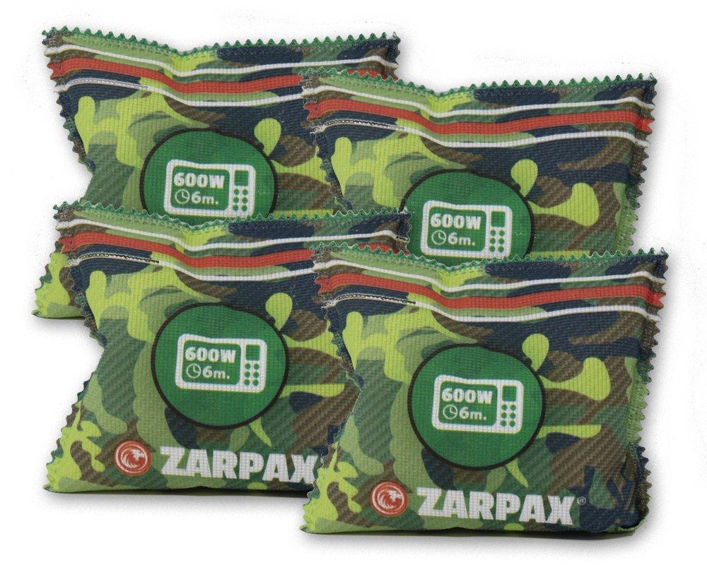 Zarpax LV2-G200-4PK, 4-Pack Reusable Outdoor Gear and Gun Safes Dehumidifier, by Zarpax