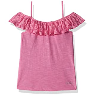 DKNY Girls' Short Sleeve T-Shirt