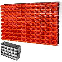 126piezas pared estantería Inbox Talla 2agujeros Naranja Taller