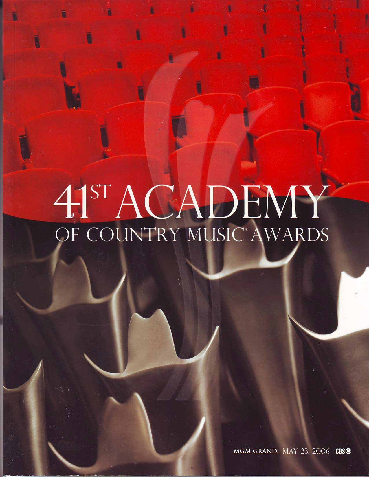 41st Academy of Country of Country Music Award: MGM Grand May 23, 2006 pdf