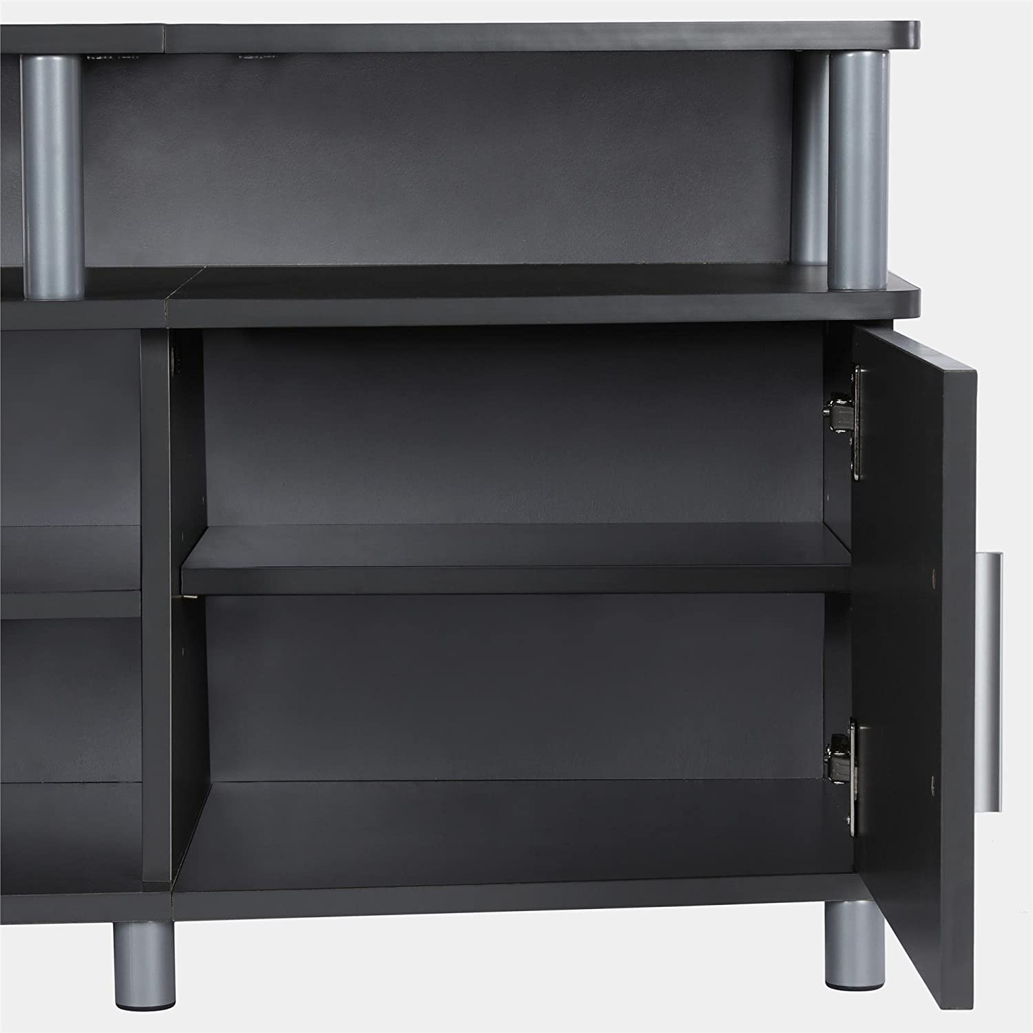 Espresso Ameriwood Home Carson TV Stand for TVs up to 50 Wide