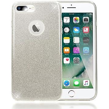 carcasa iphone 8 purpurina