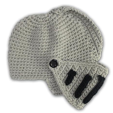 Gorra para hombre Invierno Sombrero Máscara Wacky Beanie (Grey ...