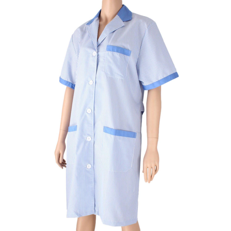 MISEMIYA - Bata SEÑORA Mujer ESTÉTICA Uniforme Laboral Dentista CLINICA Doctores Limpieza Veterinaria SANIDAD HOSTELERÍA Ref.T8162: Amazon.es: Ropa y ...