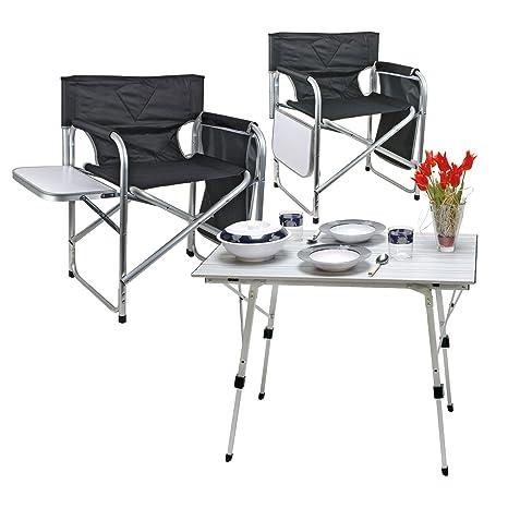 camping Juego de muebles 1 x mesa