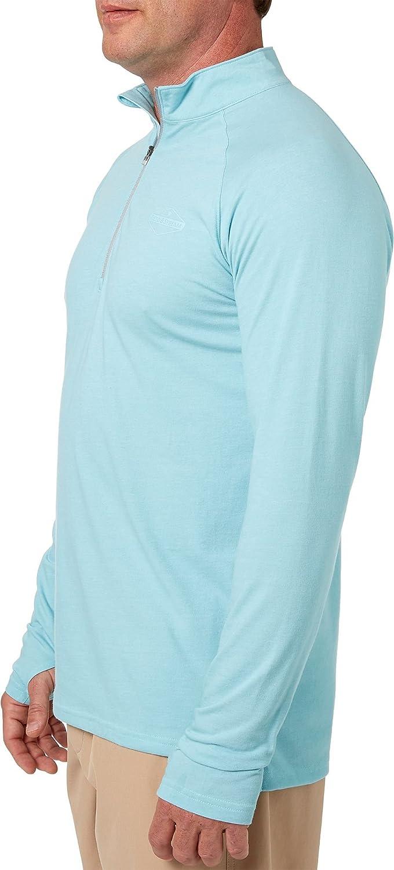 Field /& Stream Mens Deep Runner Long Sleeve Quarter Zip Shirt