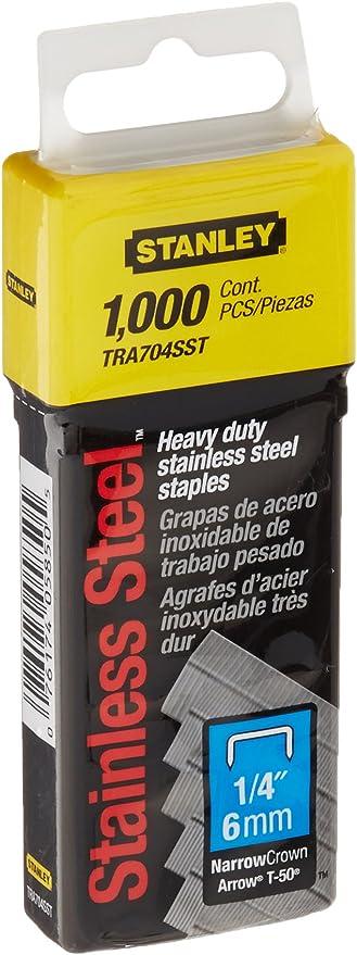 4280R Stanley Heavy Duty Staples 10 mm x 1000