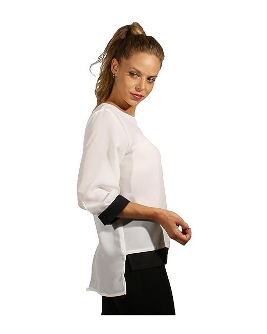 Blusa Bicolor para Mujer