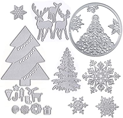 Metal Cutting Dies Stencil Embossing Die Scrapbooking DIY Xmas Card Crafts