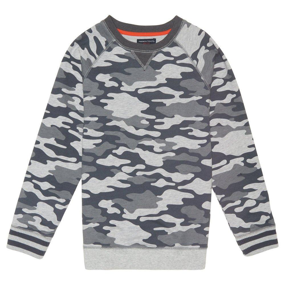 French Toast Boys Long Sleeve Raglan Sweatshirt LA3732