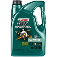 Deals on Castrol 03057 GTX MAGNATEC 5W-30 Full Synthetic Motor Oil 5-Qt