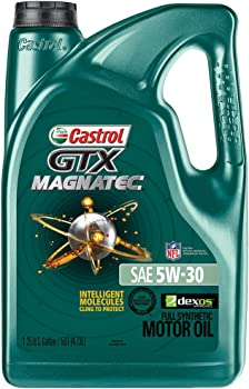Castrol GTX Magnatec 5W-30 5-Quart Full Synthetic Motor Oil