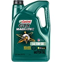 Castrol 03057 GTX MAGNATEC 5W-30 Full Synthetic Motor Oil, 5 Quart