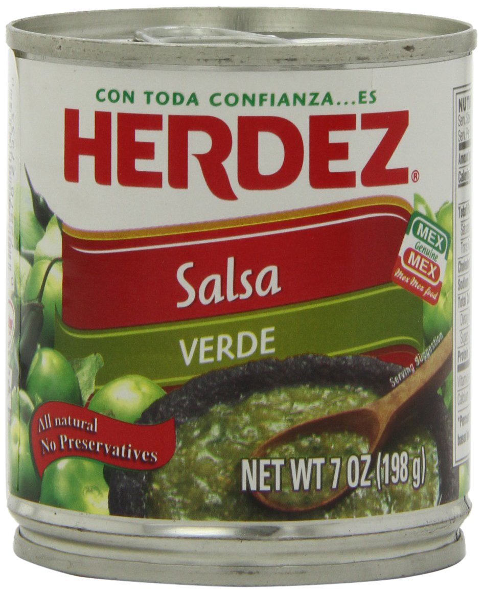 Herdez Green Salsa Verde, 7-Ounce Cans (Pack of 12) by Herdez