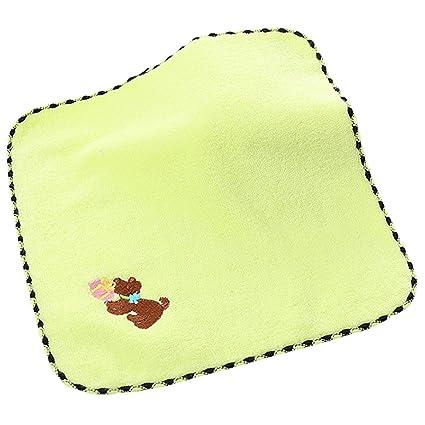 Toalla para Bebé, Fascigirl Toallita de AlgodóN Perro de Dibujos Animados Altamente Absorbente PañO de