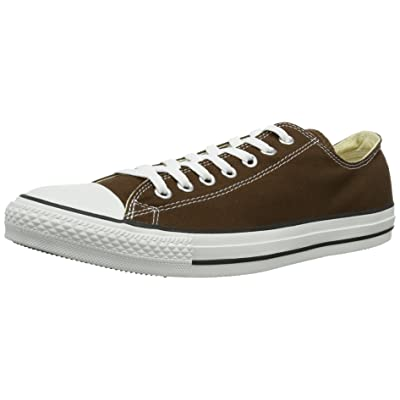 Converse Chuck Taylor Chocolate Low Top Shoes (1Q112), Size: 4 Mens / 6 Womens, Color: Chocolate | Fashion Sneakers
